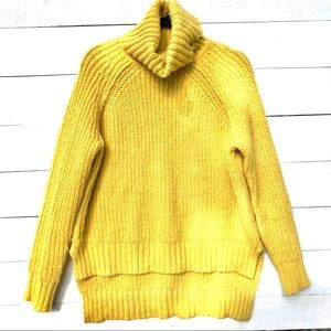 A.N.A high low sweater with cowl neck